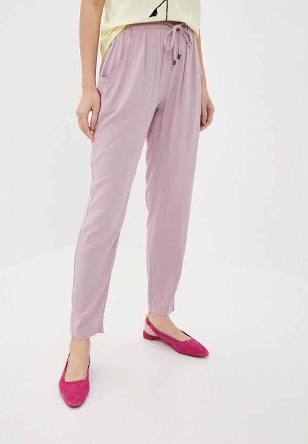 женские повседневные брюки sublevel, фиолетовые
