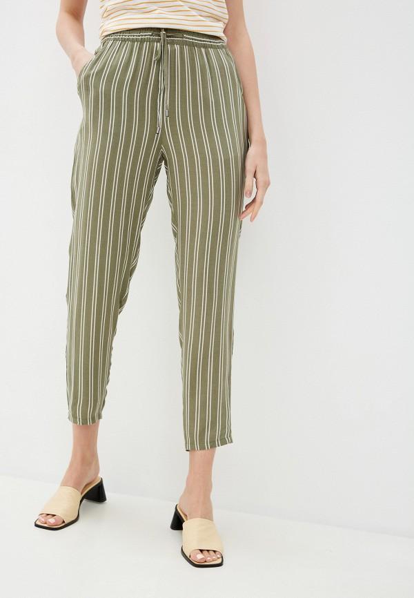 женские повседневные брюки sublevel, хаки