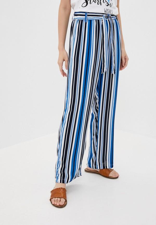 женские повседневные брюки sublevel, голубые