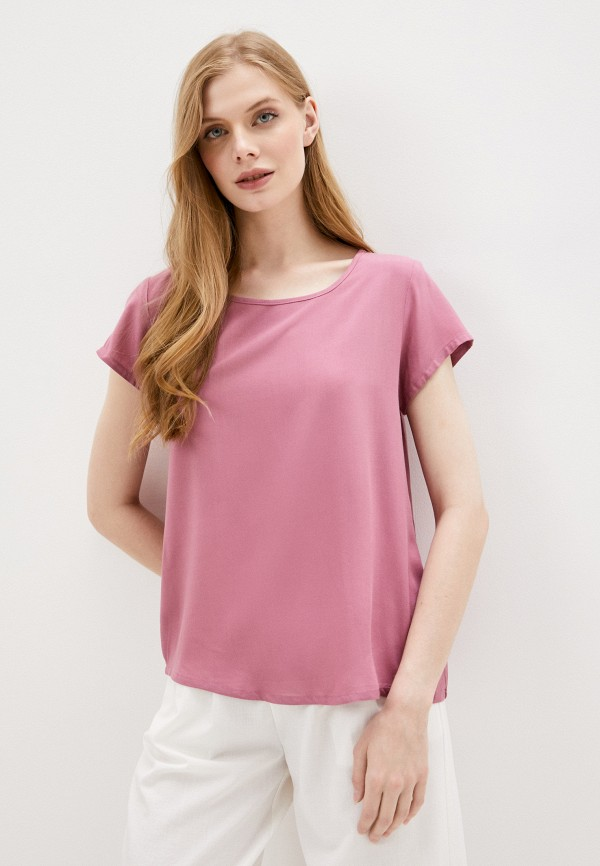 женская блузка sublevel, розовая