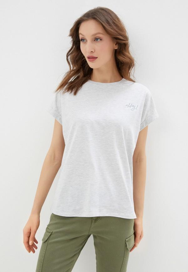 женская футболка sublevel, серая