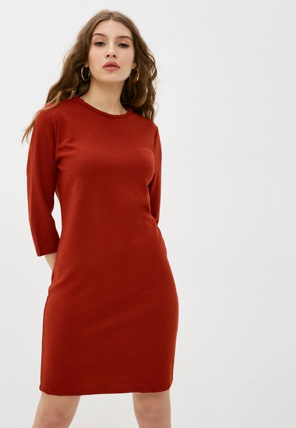 женское повседневные платье sublevel, коричневое