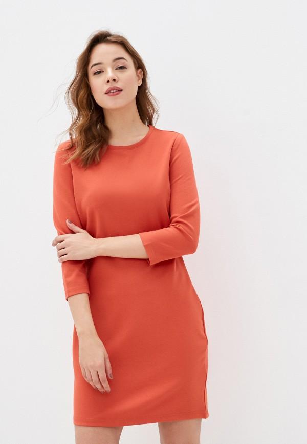 женское платье sublevel, оранжевое