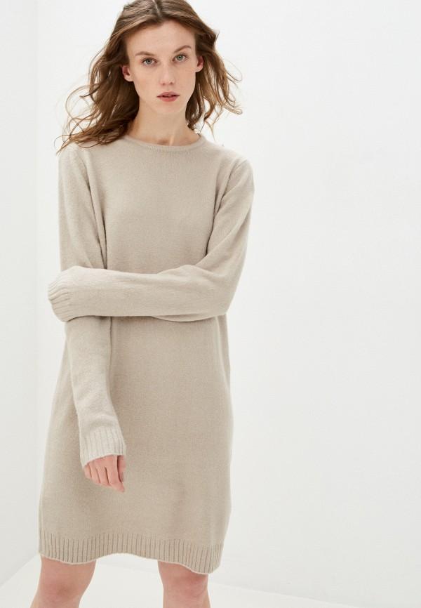 женское платье sublevel, бежевое