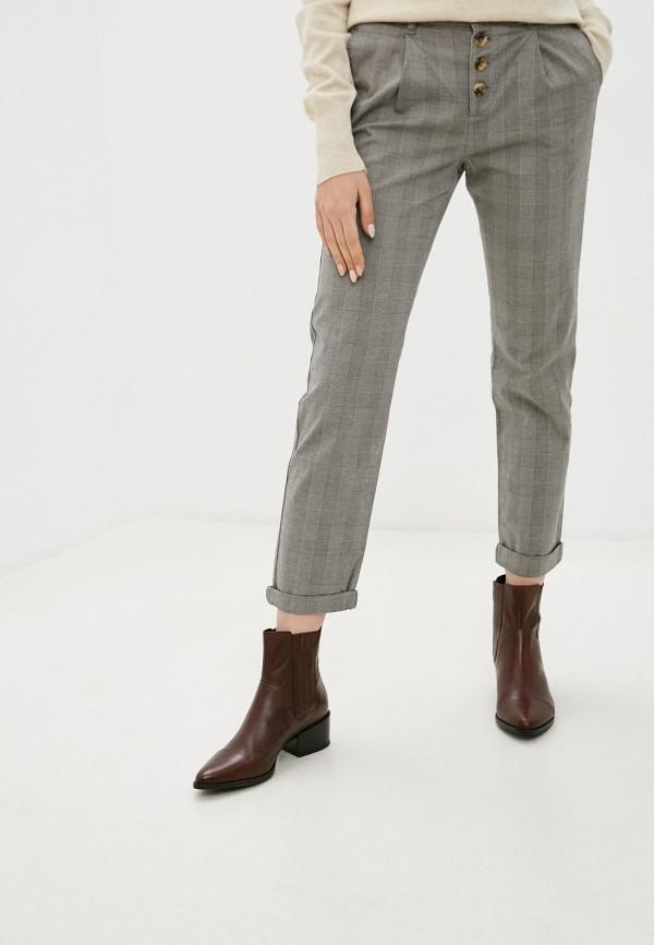 женские повседневные брюки sublevel, серые
