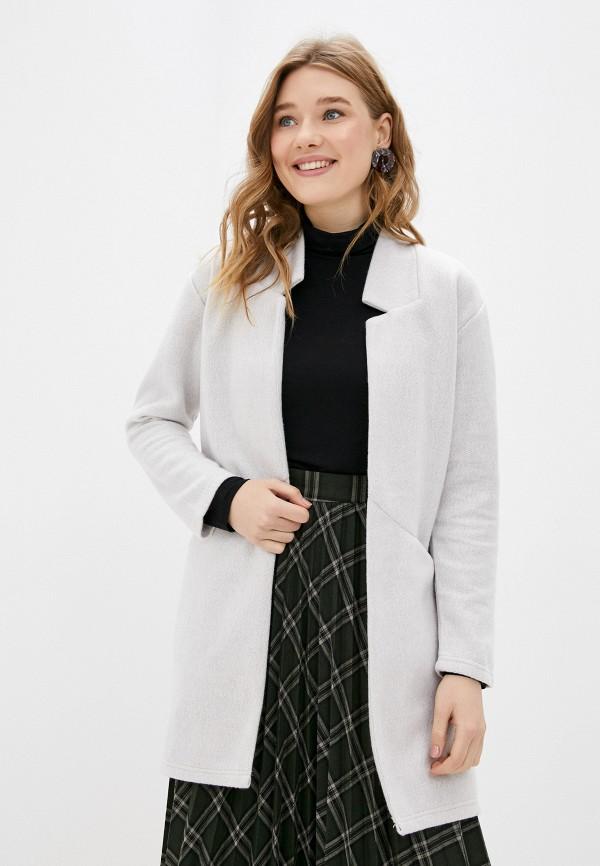 женское пальто sublevel, серое