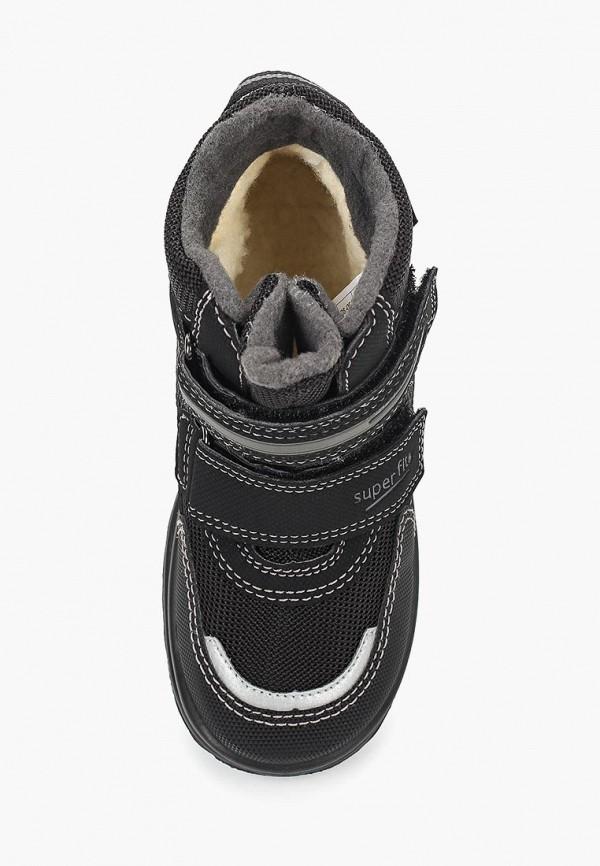 Фото 4 - Ботинки Superfit черного цвета