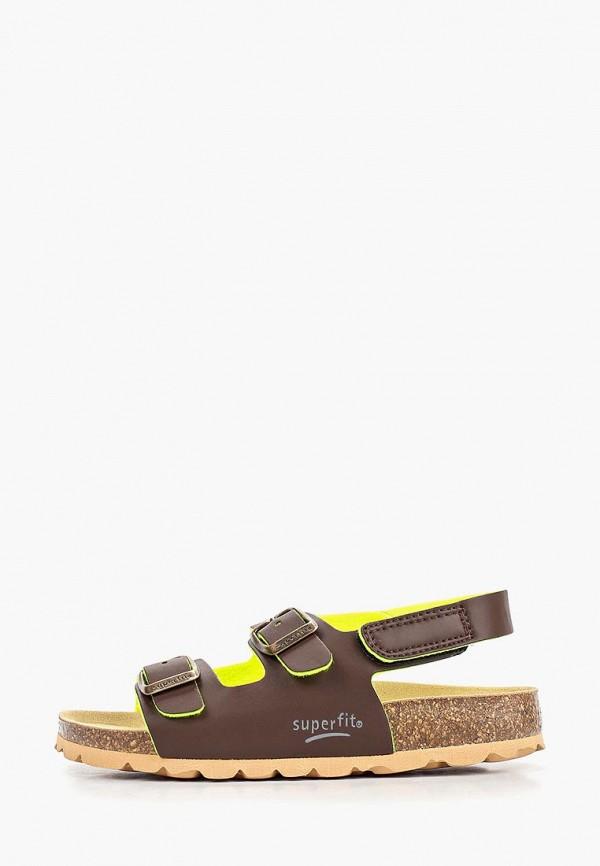 сандалии superfit для мальчика, коричневые