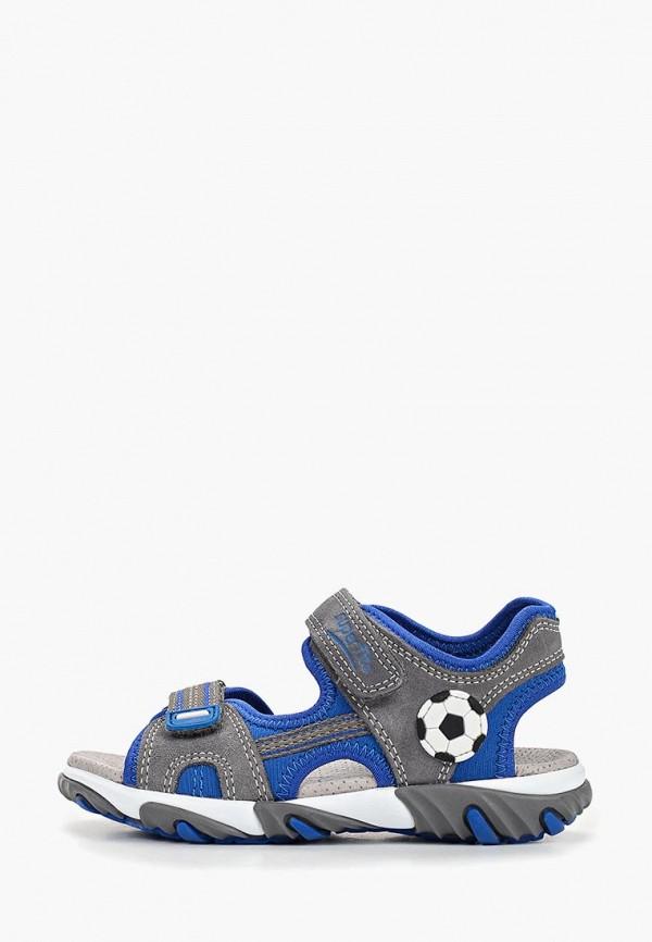 сандалии superfit для мальчика, серые