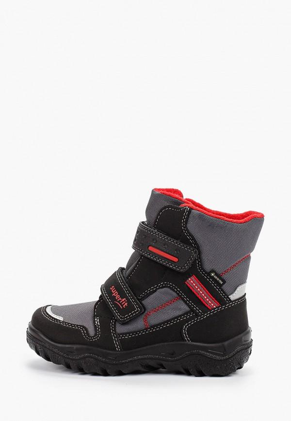 ботинки superfit для мальчика, серые
