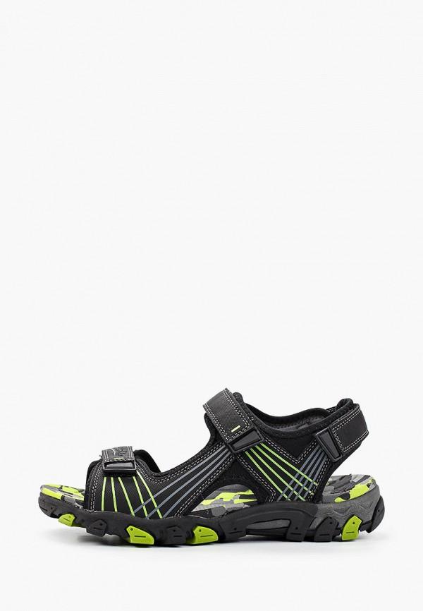 сандалии superfit для мальчика, черные