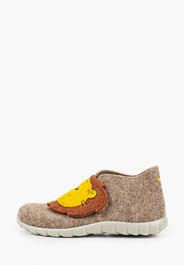 ботинки superfit для мальчика, коричневые