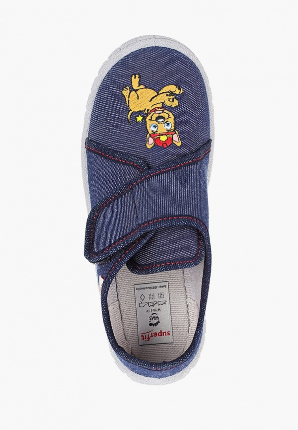 Тапочки для мальчика Superfit 1-000278-8100 Фото 4