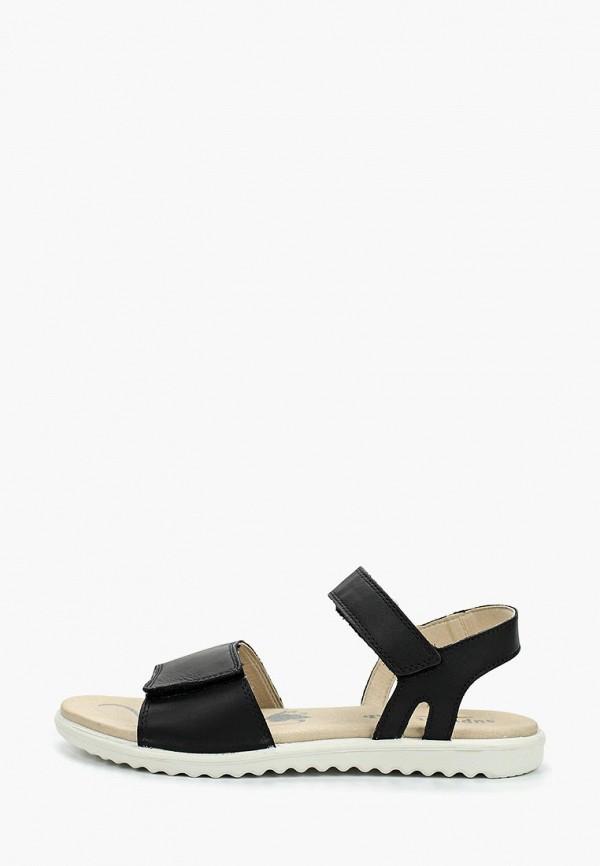 сандалии superfit для девочки, черные