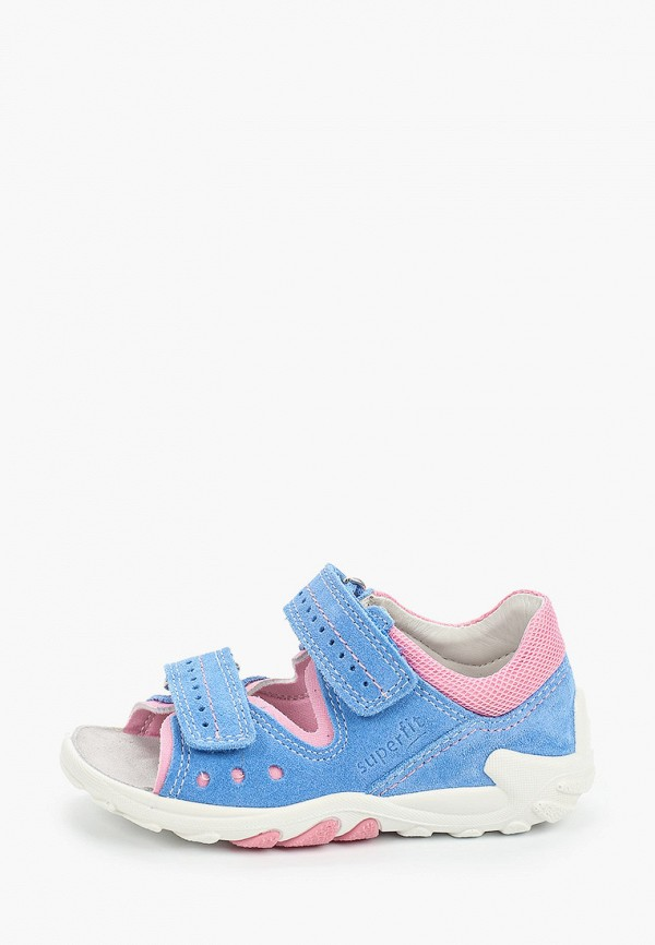 сандалии superfit для девочки, синие
