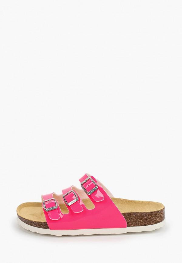 сабо superfit для девочки, розовое