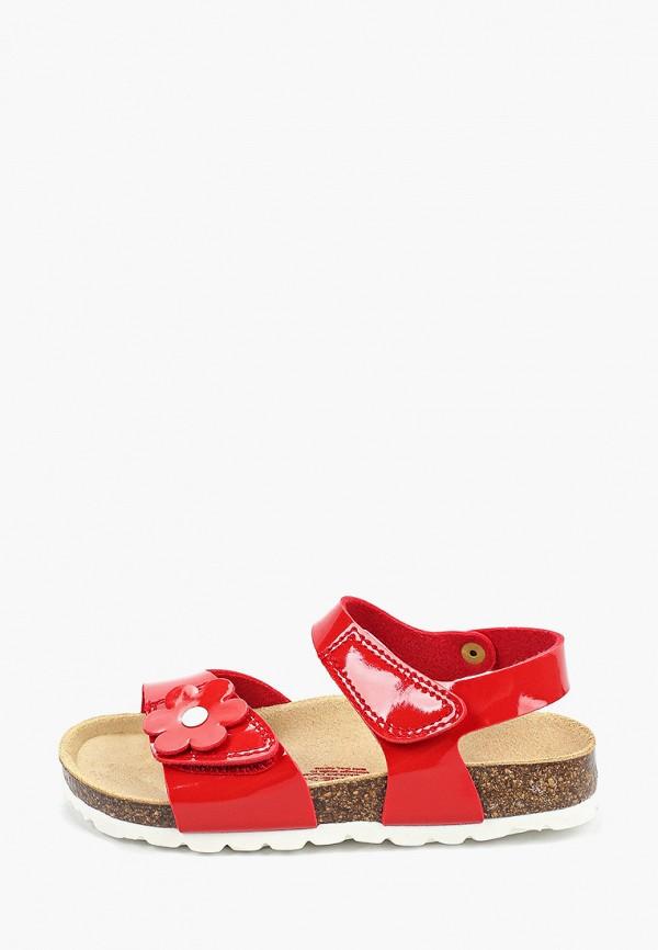 сандалии superfit для девочки, красные