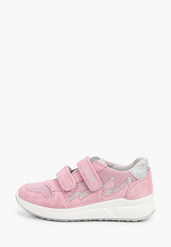 кроссовки superfit для девочки, розовые