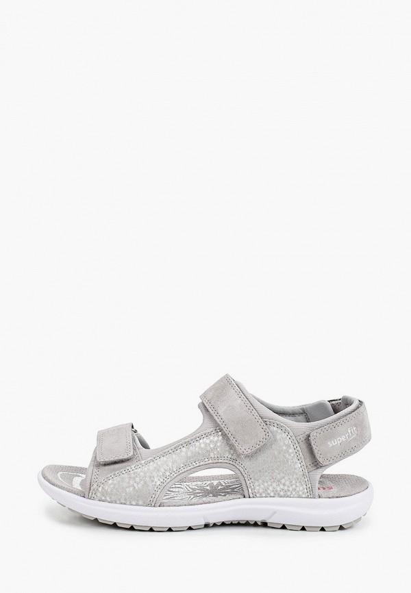 сандалии superfit для девочки, серые