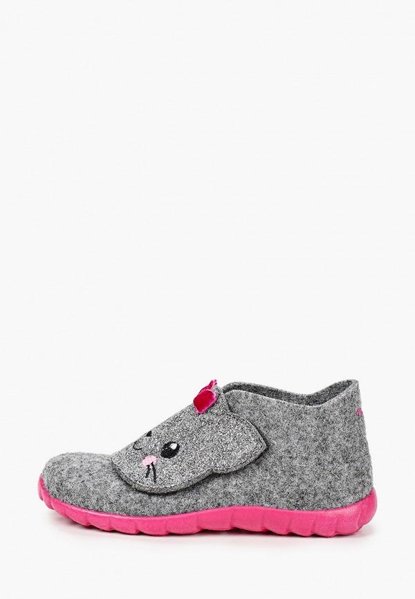 ботинки superfit для девочки, серые