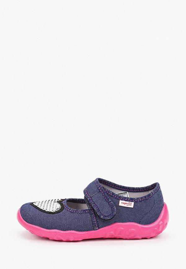 туфли superfit для девочки, синие