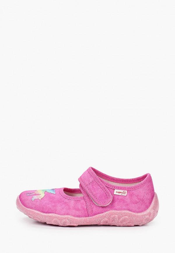 туфли superfit для девочки, розовые