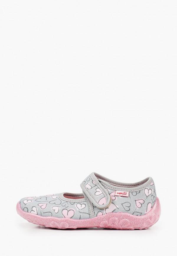 туфли superfit для девочки, серые