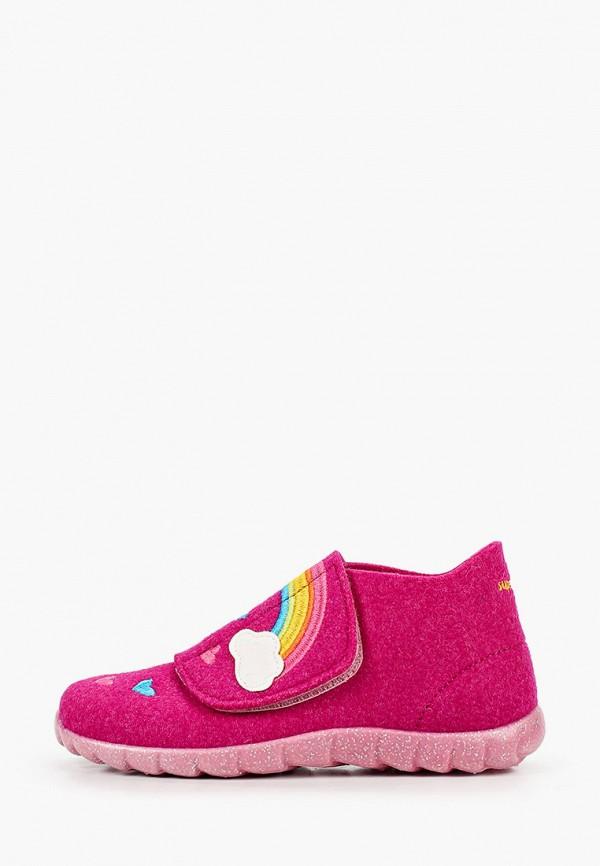 ботинки superfit для девочки, розовые