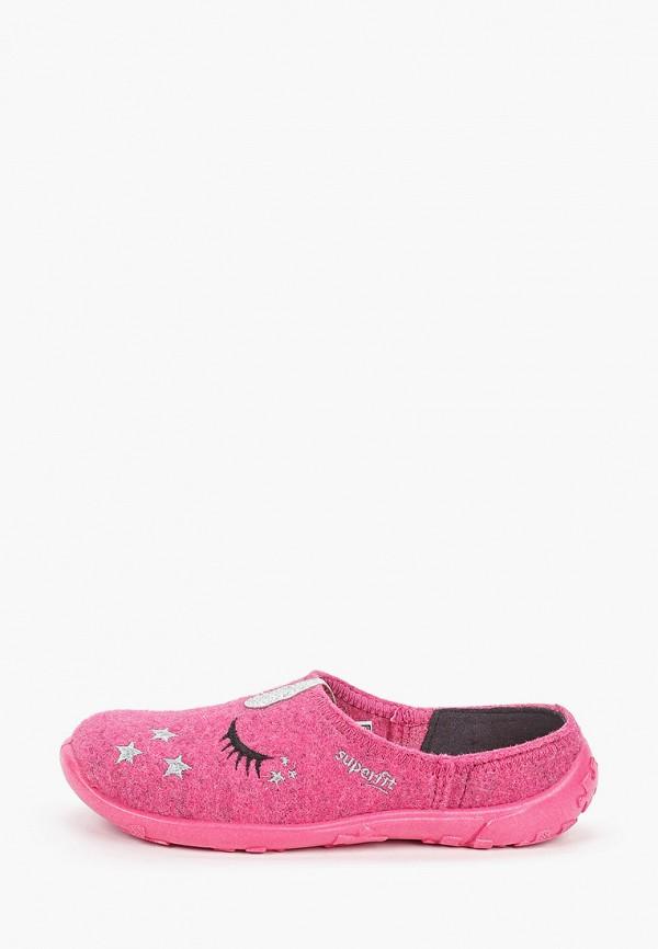 тапочки superfit для девочки, розовые