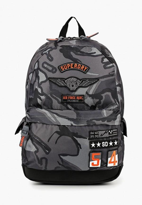 Купить Рюкзак Superdry, SU789BMBYNN0, серый, Осень-зима 2018/2019