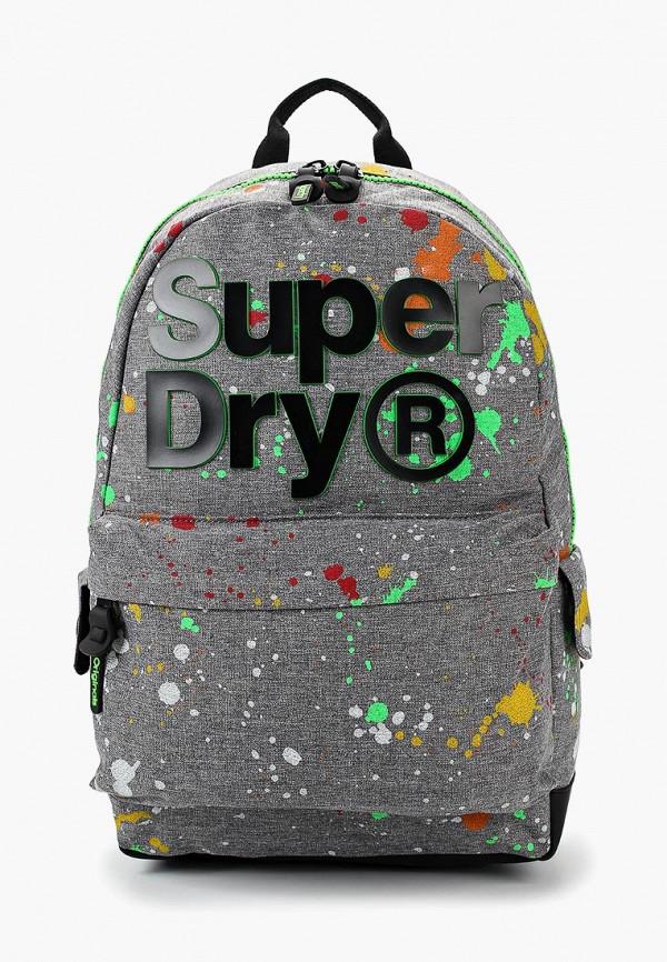 Купить Рюкзак Superdry, SU789BMBYNP9, серый, Осень-зима 2018/2019