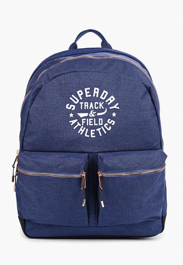 мужской рюкзак superdry, синий