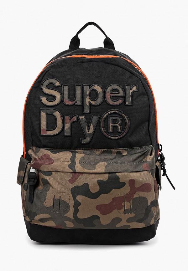 мужской рюкзак superdry, разноцветный