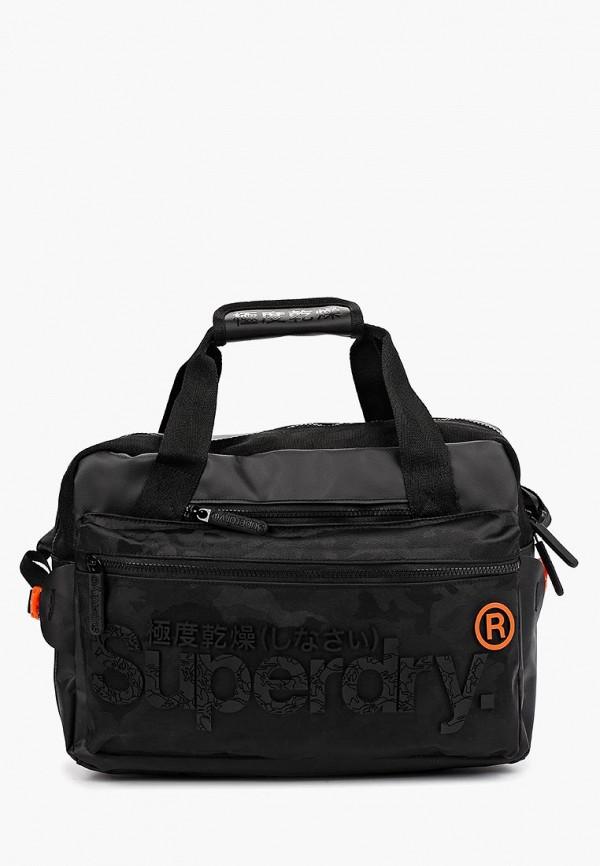 Фото - Мужскую сумку Superdry черного цвета