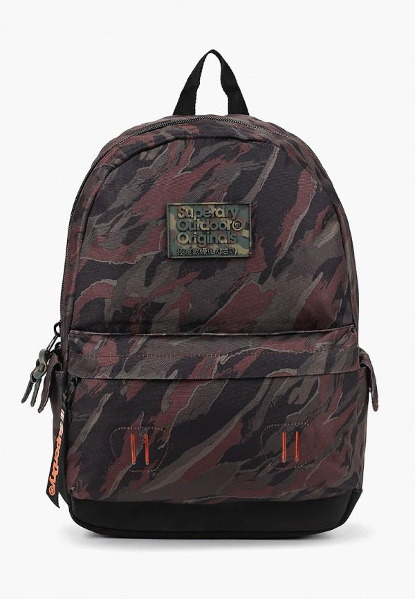 мужской рюкзак superdry, хаки
