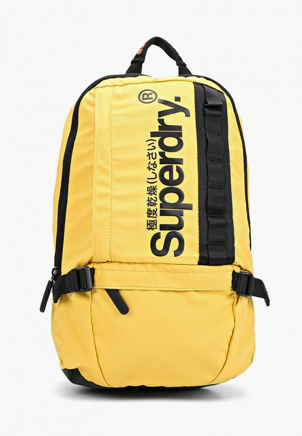мужской рюкзак superdry, желтый