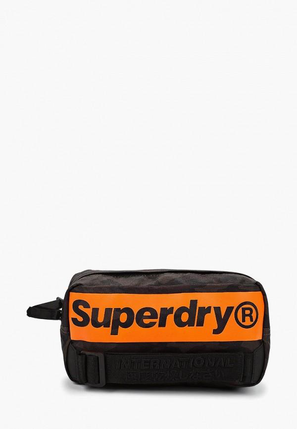 мужская сумка superdry, хаки