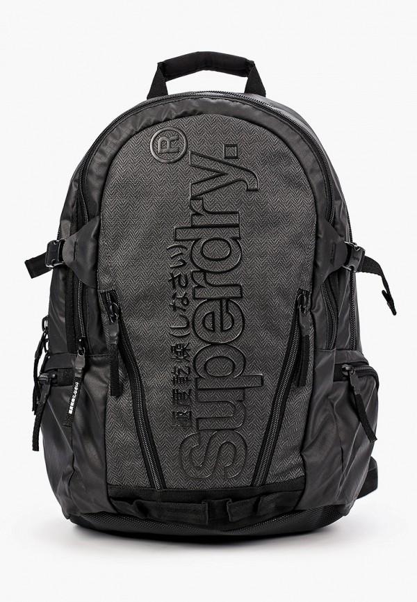 мужской рюкзак superdry, черный