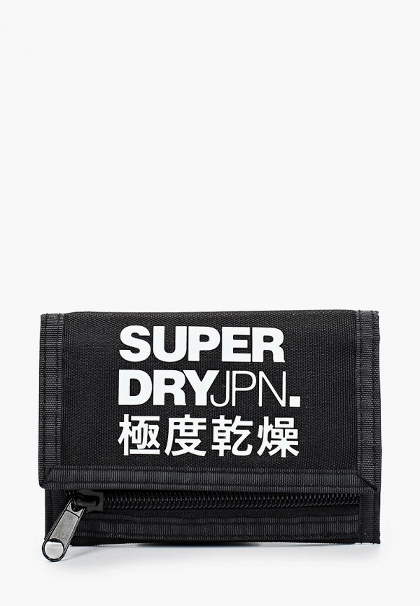 мужской кошелёк superdry, черный