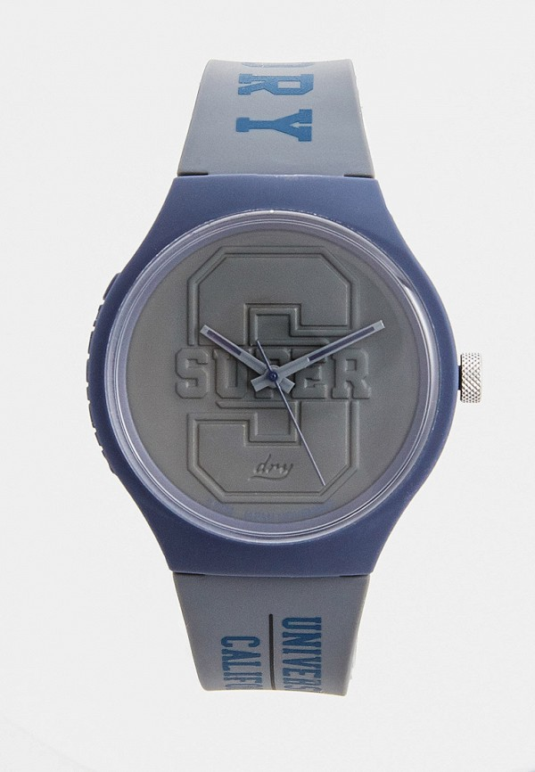 мужские часы superdry, серые