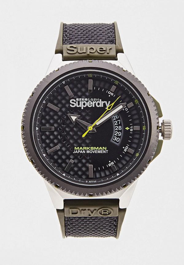 мужские часы superdry, хаки