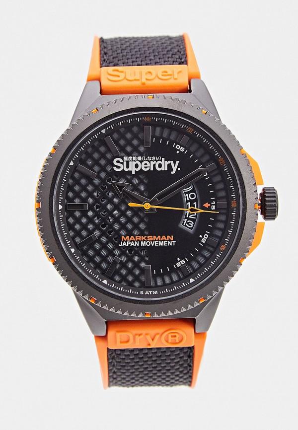 мужские часы superdry, оранжевые