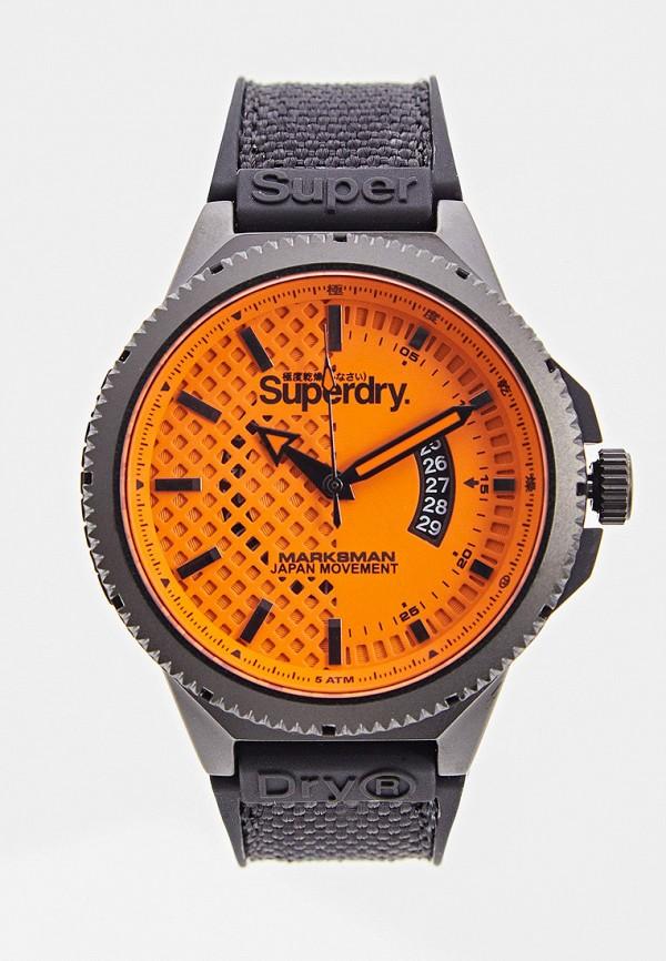 мужские часы superdry, черные