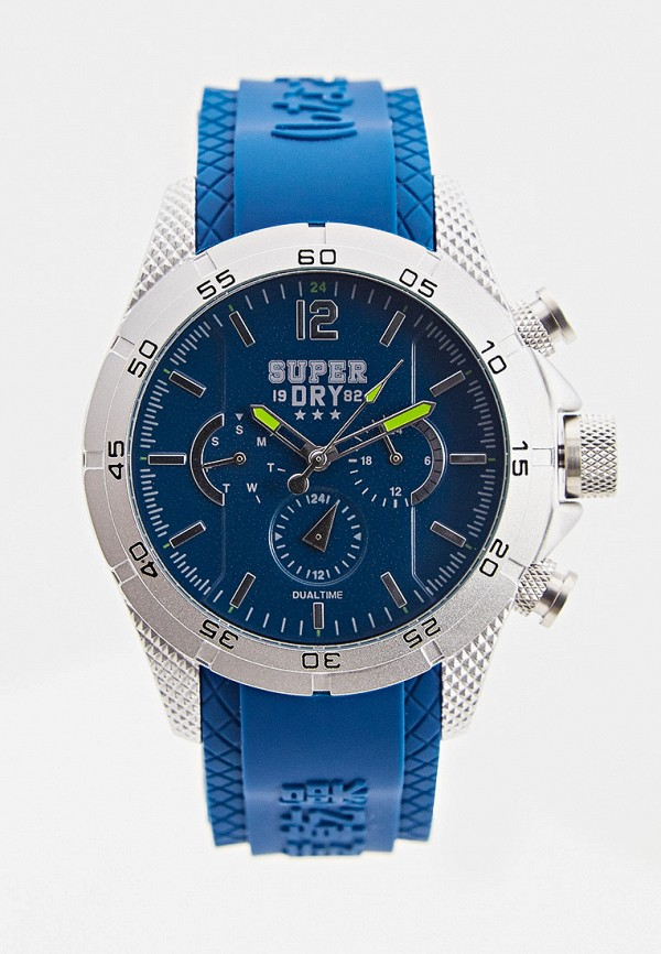 мужские часы superdry, синие