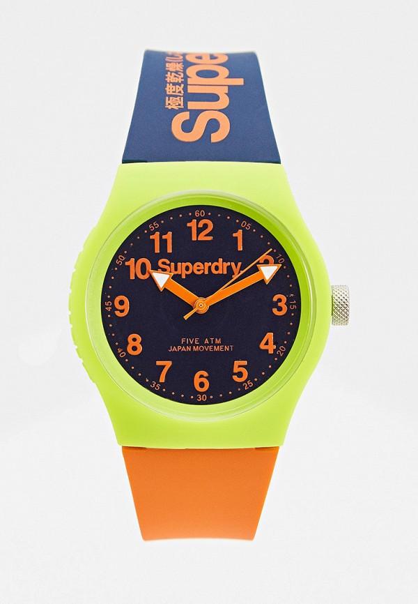 женские часы superdry, разноцветные
