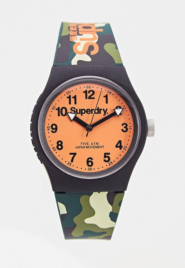 женские часы superdry, хаки