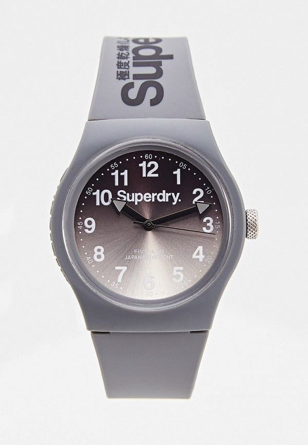 женские часы superdry, серые