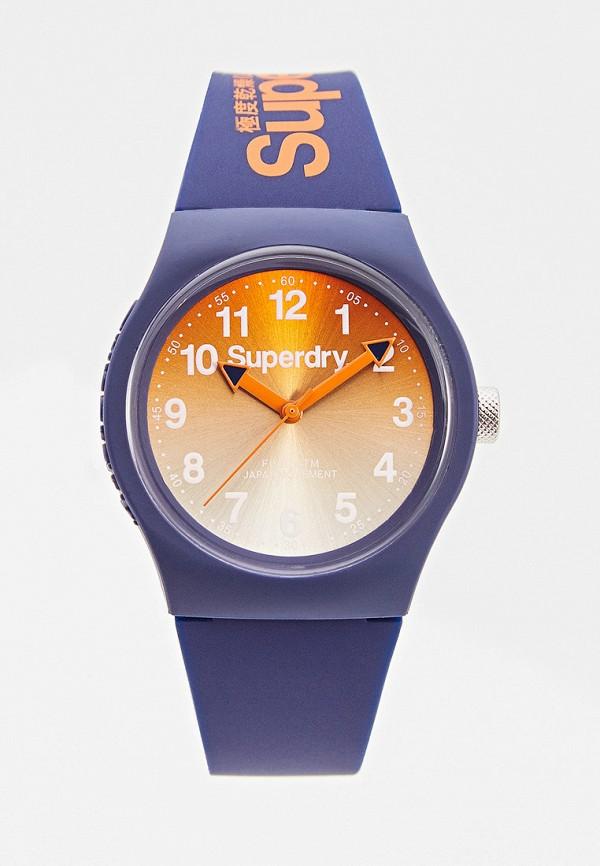 женские часы superdry, синие