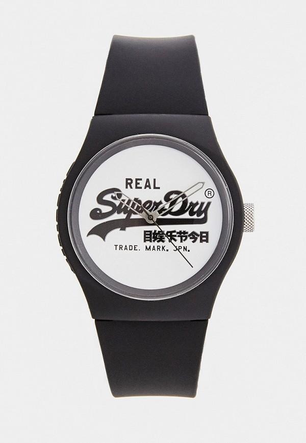 женские часы superdry, черные