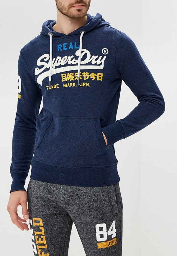 Худи Superdry Superdry SU789EMBYNT9 худи print bar fall out boy